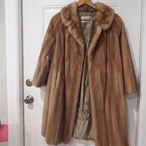 Malpe Furries Silverman and Sons vintage fur coat
